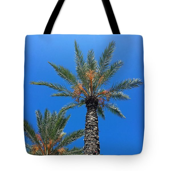 Palm Trees Tote Bag by Kay Gilley