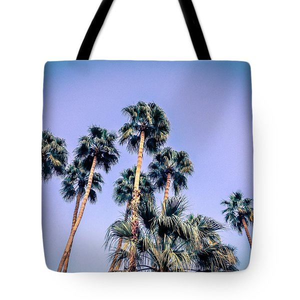 Palm Trees Palm Springs Summer Tote Bag