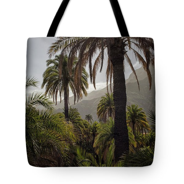 Palm Trees Tote Bag by Patricia Hofmeester