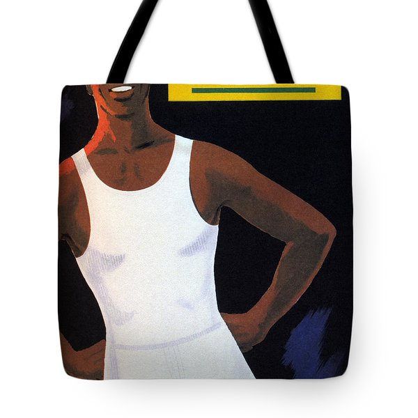 Palmers - Men's Vests And Briefs - Vintage Advertising Poster Tote Bag