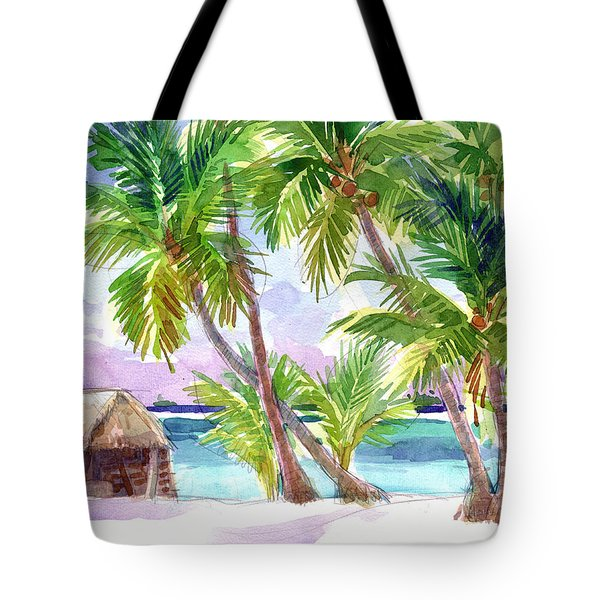 Palmerston, Cook Islands Tote Bag
