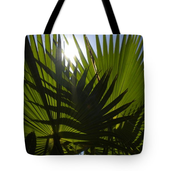 Tote Bag featuring the photograph Palmetto 3 by Renate Nadi Wesley