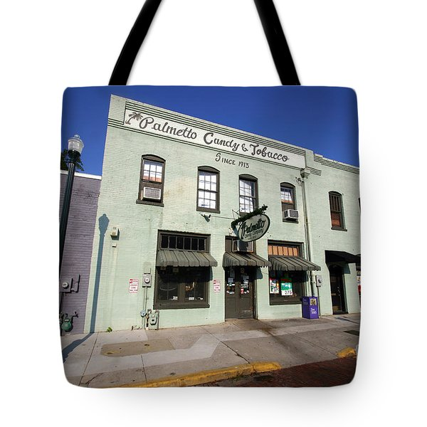 Tote Bag featuring the photograph Palmetto Candy And Tobaco  by Joseph C Hinson Photography