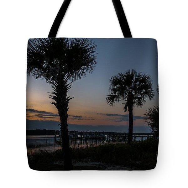 Palmetto Sky Tote Bag