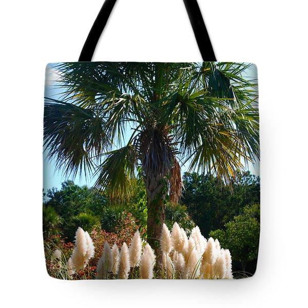 Palmetto Tree  Tote Bag