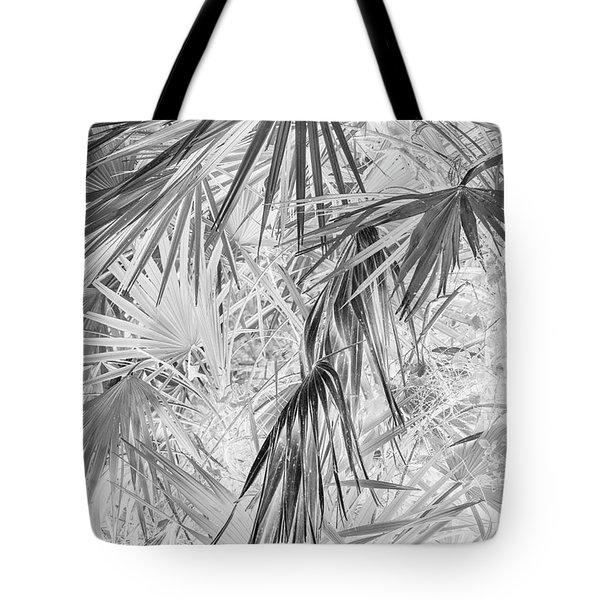 Palmettos Negatives Tote Bag