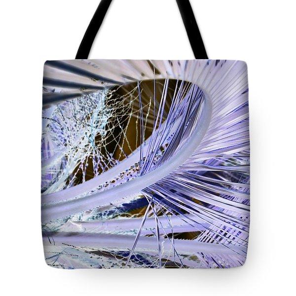Palm Wave Tote Bag