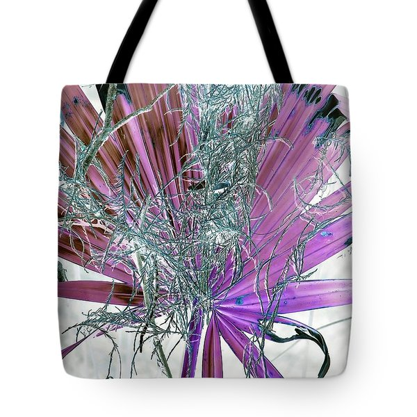 Festive Palm Tote Bag