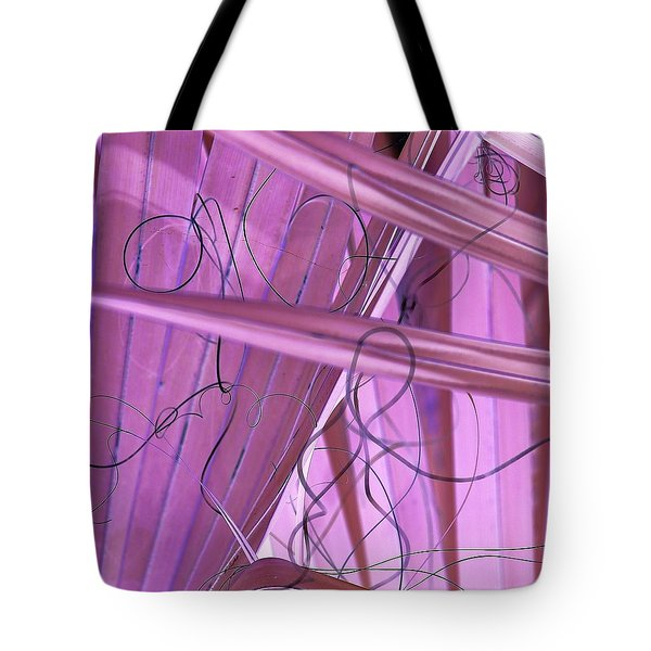 Lines, Curves And Highlights Tote Bag