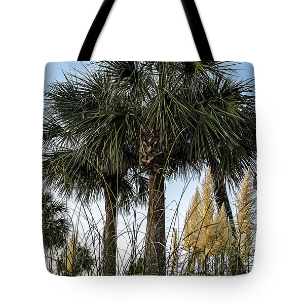 Palms At Lightkeepers Tote Bag