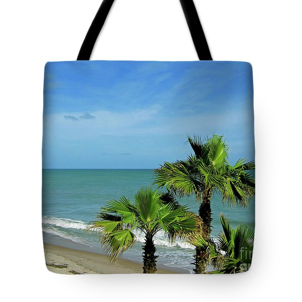 Palms At Vero Beach Tote Bag