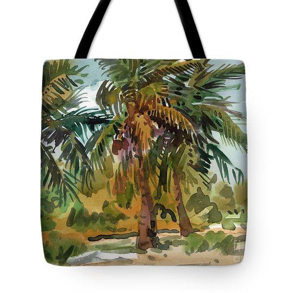 Palms In Key West Tote Bag