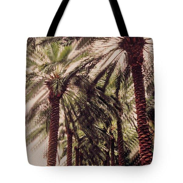 Palmtree Tote Bag by Jeanette Korab