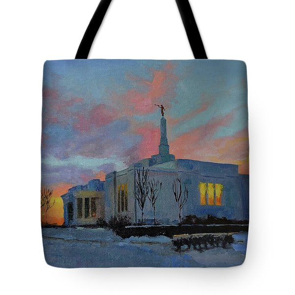 Palmyra Temple At Sunset Tote Bag