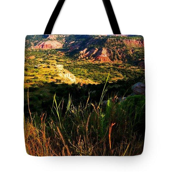 Palo Duro Canyon Amarillo Texas Tote Bag