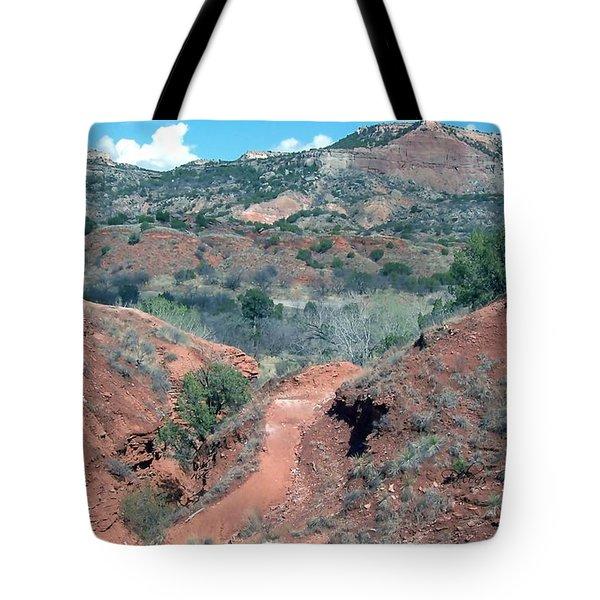 Palo Duro Canyon Tote Bag