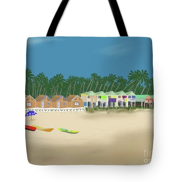 Palolem Beach Goa Tote Bag