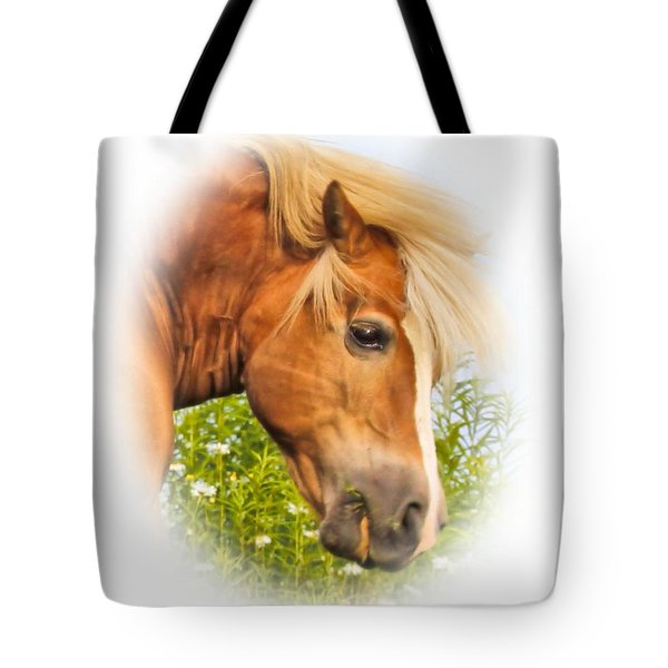 Tote Bag featuring the photograph Palomino Head by Debbie Stahre