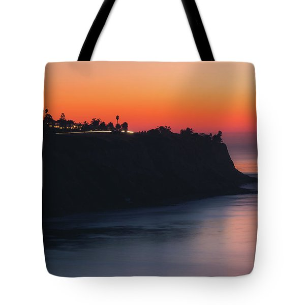 Palos Verdes Coast After Sunset Tote Bag