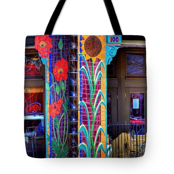 Palouse Cafe Tote Bag by David Patterson