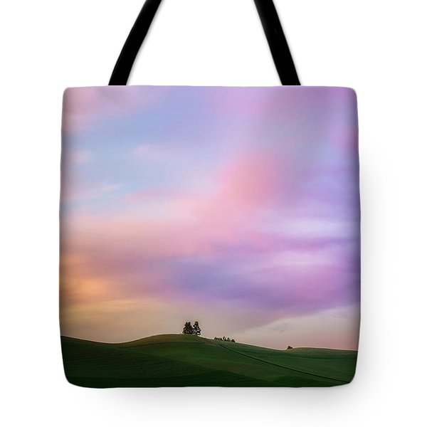 Palouse Cirrus Rainbow Tote Bag
