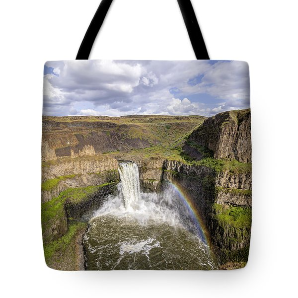 Tote Bag featuring the photograph Palouse Falls by Albert Seger