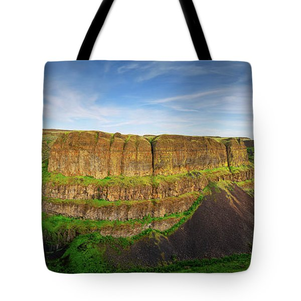 Palouse Falls Canyon Tote Bag