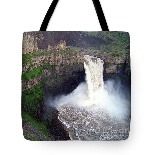Palouse Falls - The Official Washington State Waterfall Tote Bag
