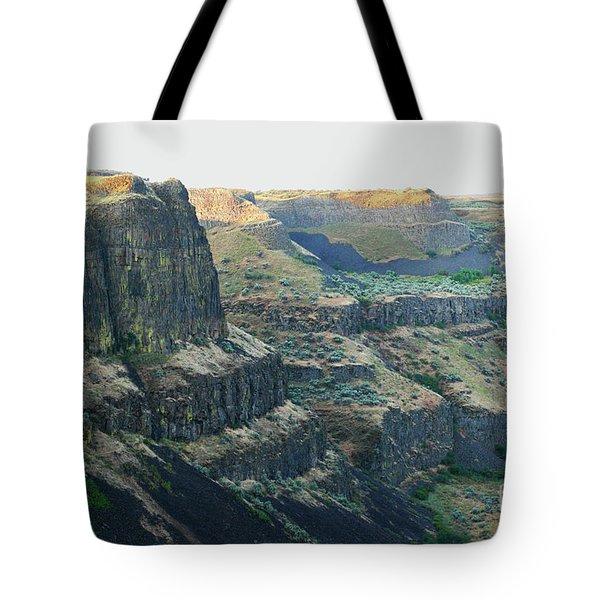 Palouse River Canyon Buttes Tote Bag