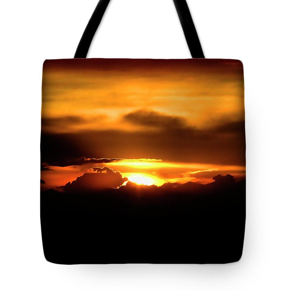 Palouse Sunset Tote Bag by David Patterson