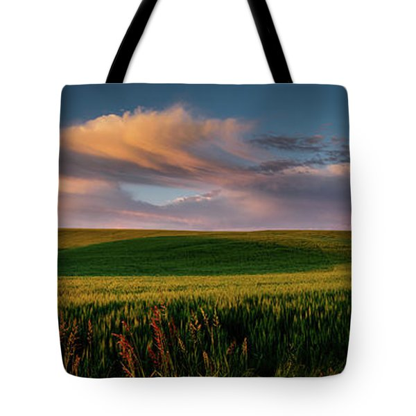Palouse Tree Of Life Tote Bag