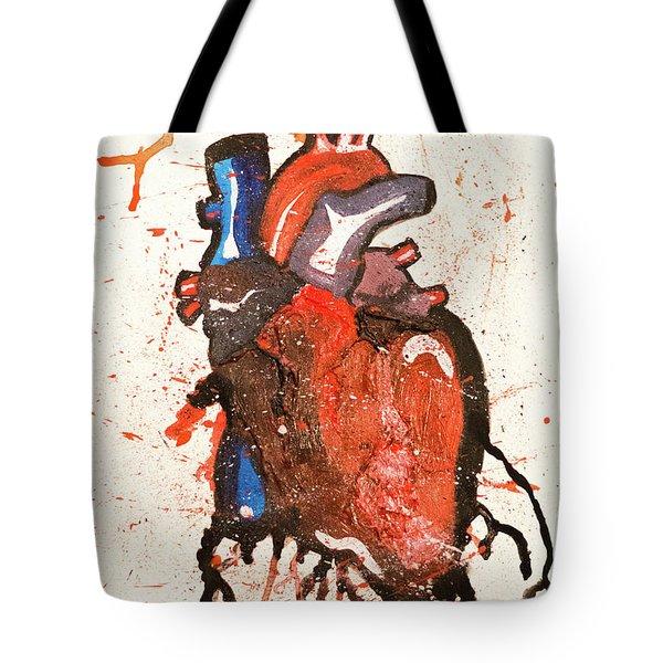 Palpitate Tote Bag
