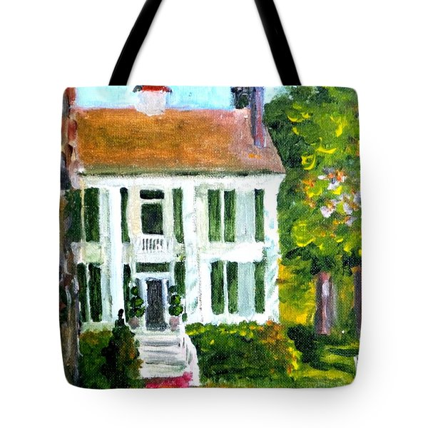 Palto Alto Plantation Up Close Tote Bag