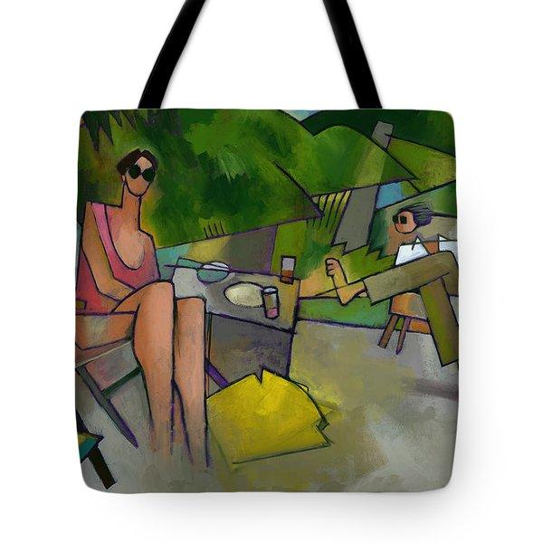 Pam And Randy At Lanikai Tote Bag