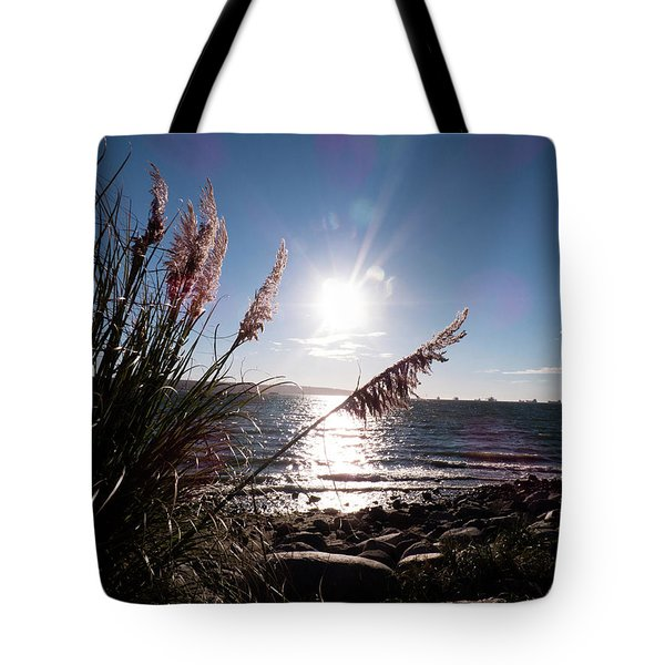 Pampas By The Sea Tote Bag