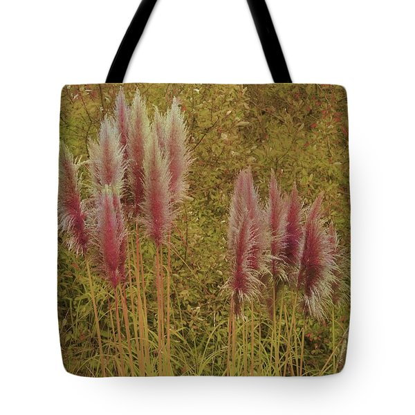 Tote Bag featuring the photograph Pampas Grass by Athala Carole Bruckner