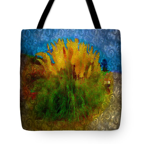 Pampas Grass Tote Bag by Iowan Stone-Flowers