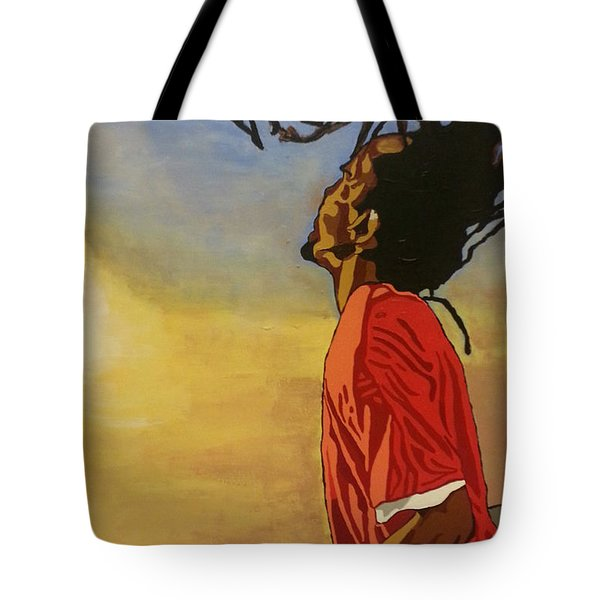 Pan Rising Tote Bag