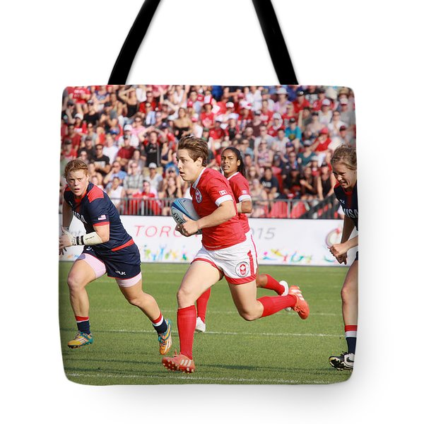 Panam Games. Womens' Rugby 7's Tote Bag