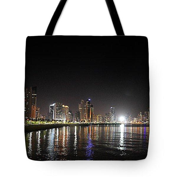Panama City Night Tote Bag