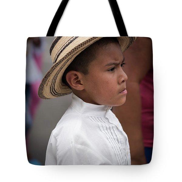 Panamanian Boy Tote Bag