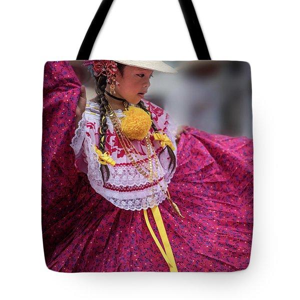 Panamanian Dancer 1 Tote Bag