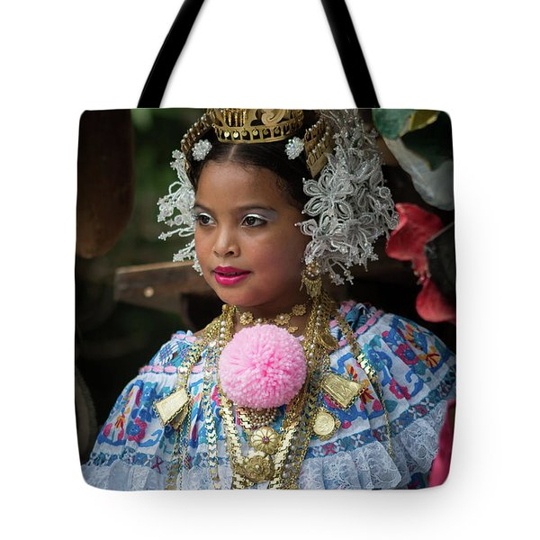Panamanian Queen Of The Parade Tote Bag
