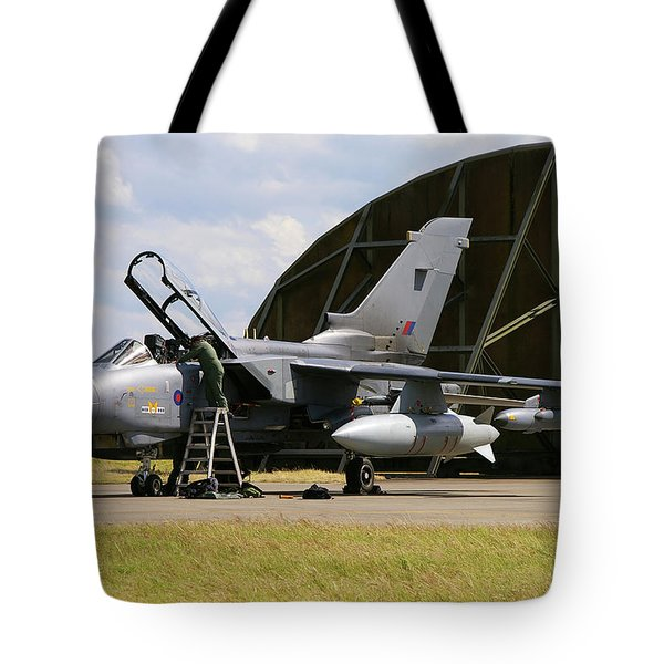 Panavia Tornado Gr4 Tote Bag by Tim Beach