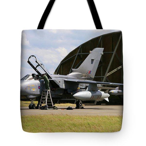 Panavia Tornado Gr4 Tote Bag