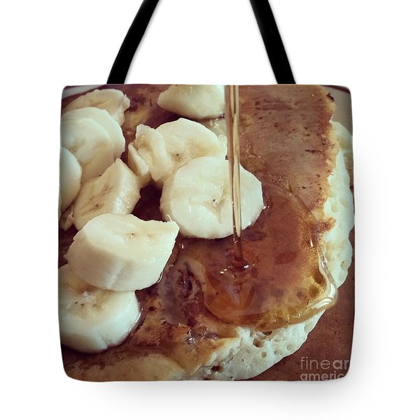 Tote Bag featuring the photograph Pancakes  by Raymond Earley