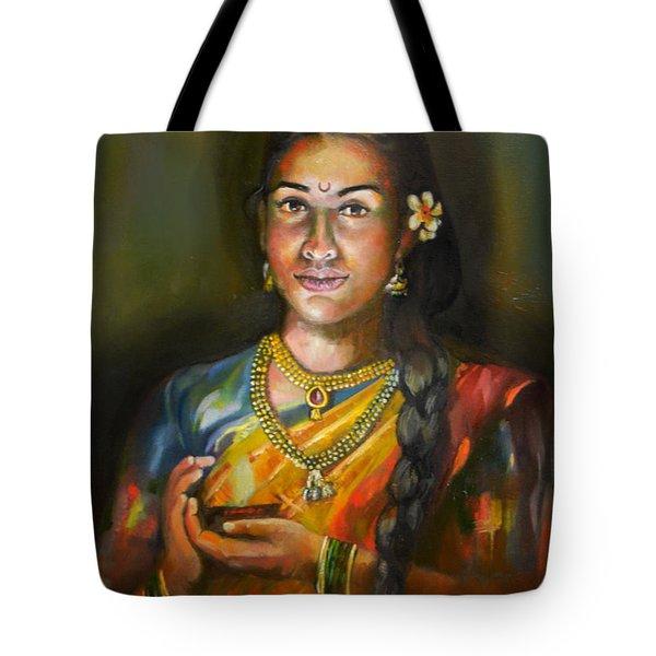 Panchali Tote Bag