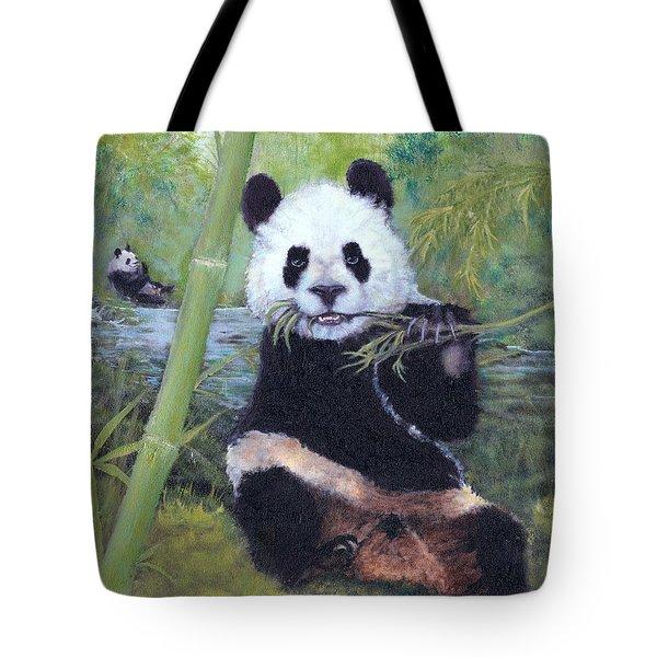 Panda Buffet Tote Bag