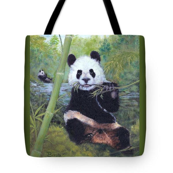 Panda Buffet Tote Bag