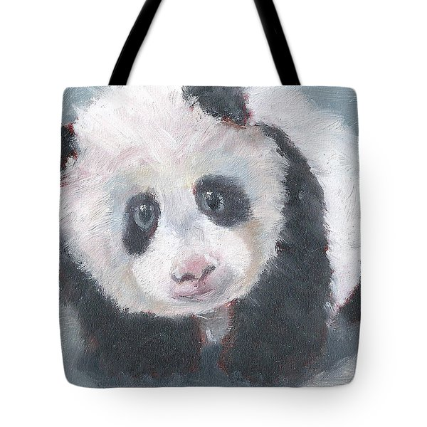 Panda For Panda Tote Bag by Jessmyne Stephenson